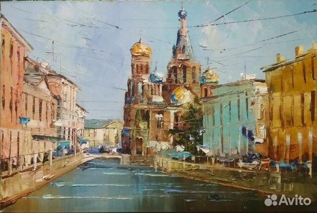 ebcd1a95965cd Авторская картина маслом (спас-на-крови,Питер ) купить в Санкт ...