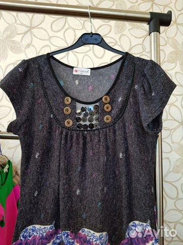 Платье подростковое трикотаж 40/44  купить 3