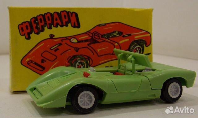 89617538239  Модель автомобиля ferrari CAN-AM
