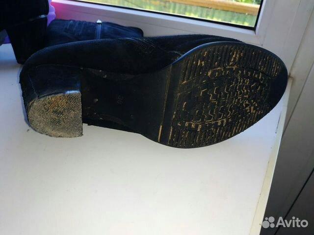 Продаю сапоги женские натуральные 89880785318 купить 7