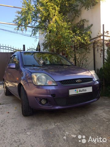Ford Fiesta, 2007  89343419007 купить 7
