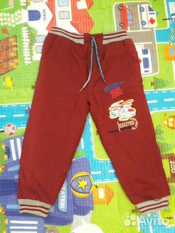 Утепленные брюки новые