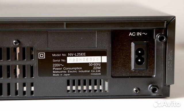Видеомагнитофон Panasonic NV-25 (Япония)  купить 8