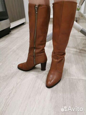 Женские кожаные сапоги aaltonen