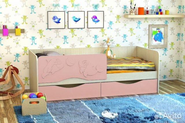 Кровать Дельфин 1,4 89051948116 купить 1