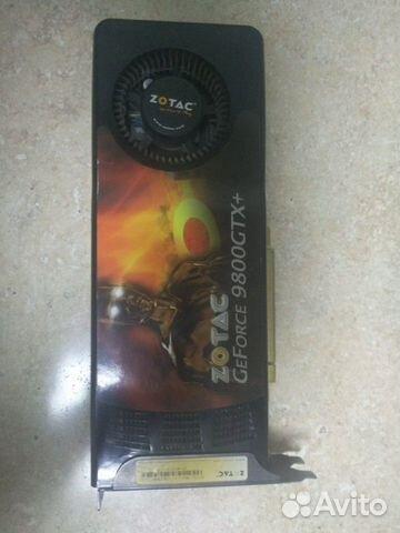 Видеокарта GeForce 9800 GTX + купить 1