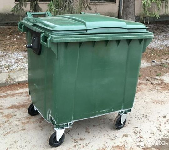 Контейнер для мусора и рсо 1100 л