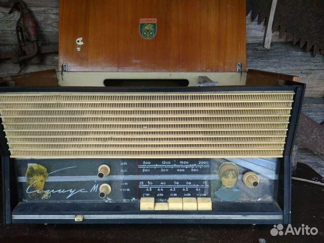 Радиола сетевая ламповая Сириус М  89210012538 купить 1