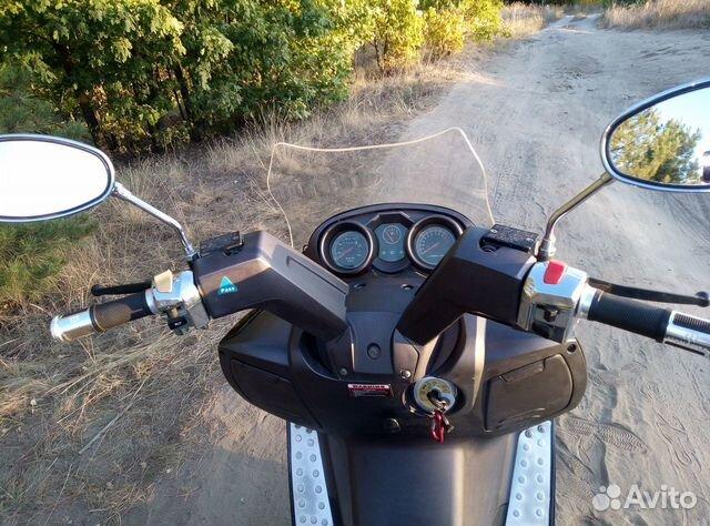 Макси скутер Yiben Vanguard 150  89885612079 купить 5