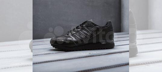 e5fbdc2e Кроссовки Adidas ZX 750 мужские черные кожаные купить в Москве на Avito —  Объявления на сайте Авито