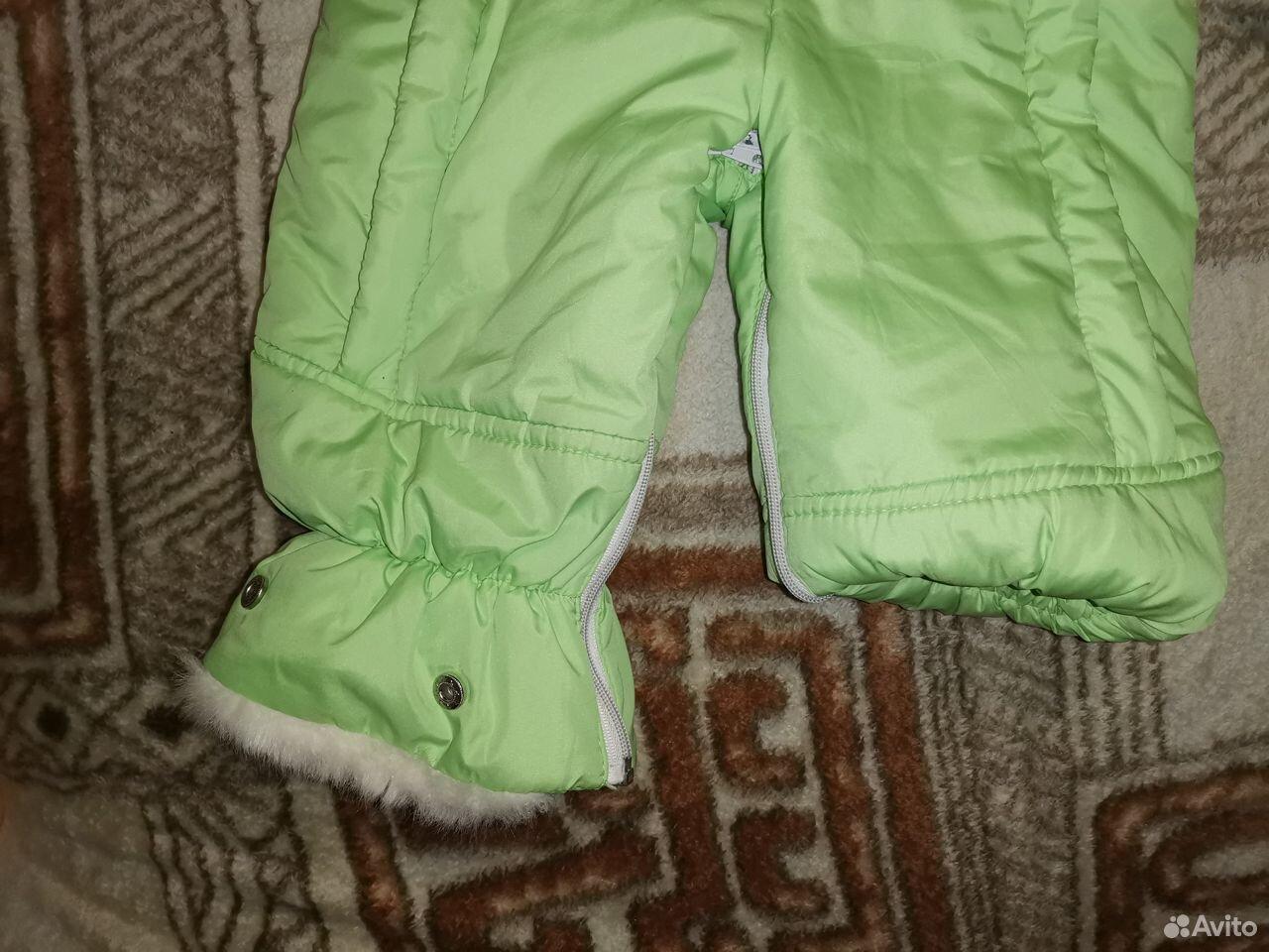 Комбинезон зима на овчине Батик трансф-р до 86 см