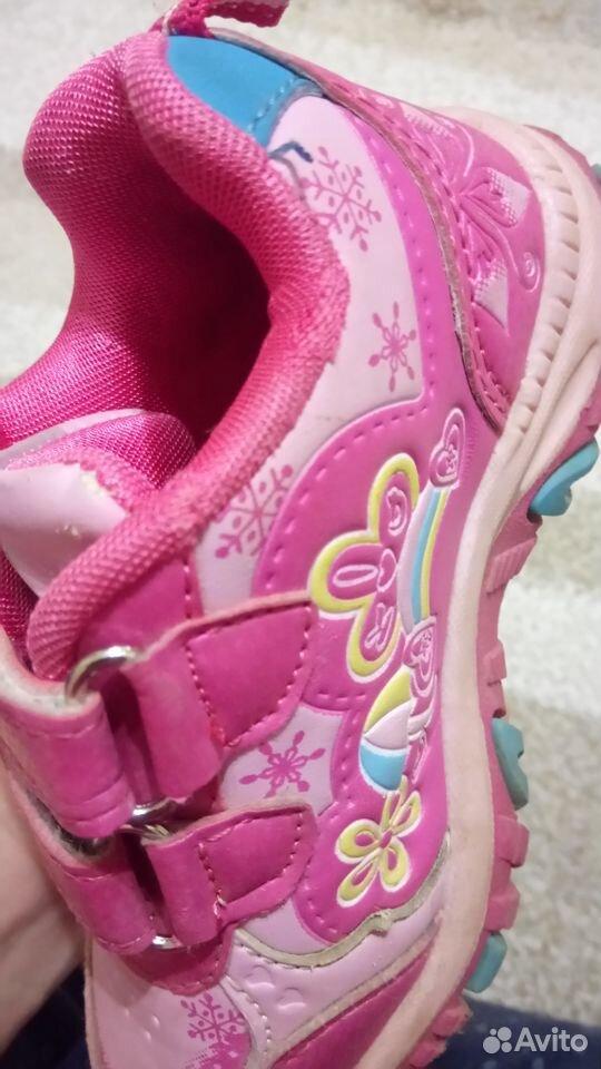 Кроссовки для девочки, р. 25  89213578617 купить 6