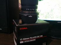 Объектив Sigma AF 17-50mm F2.8 EX DC OS HSM
