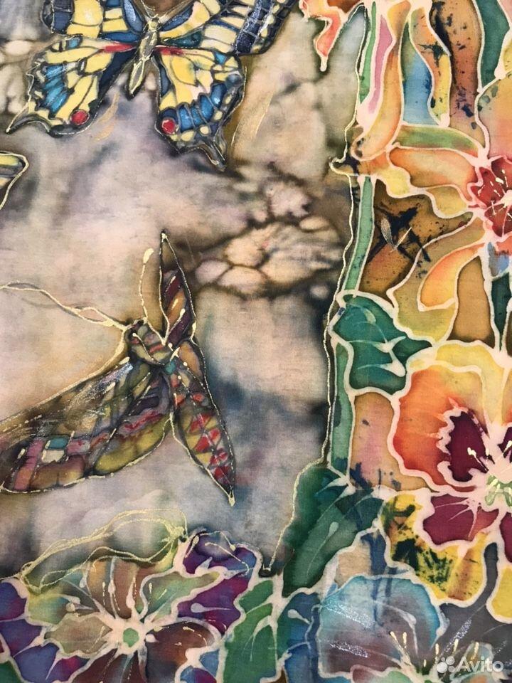 Картина-батик-бабочки 89180478771 купить 5