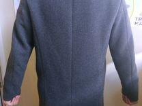 Шерстяное осеннее пальто Pull&Bear размер S