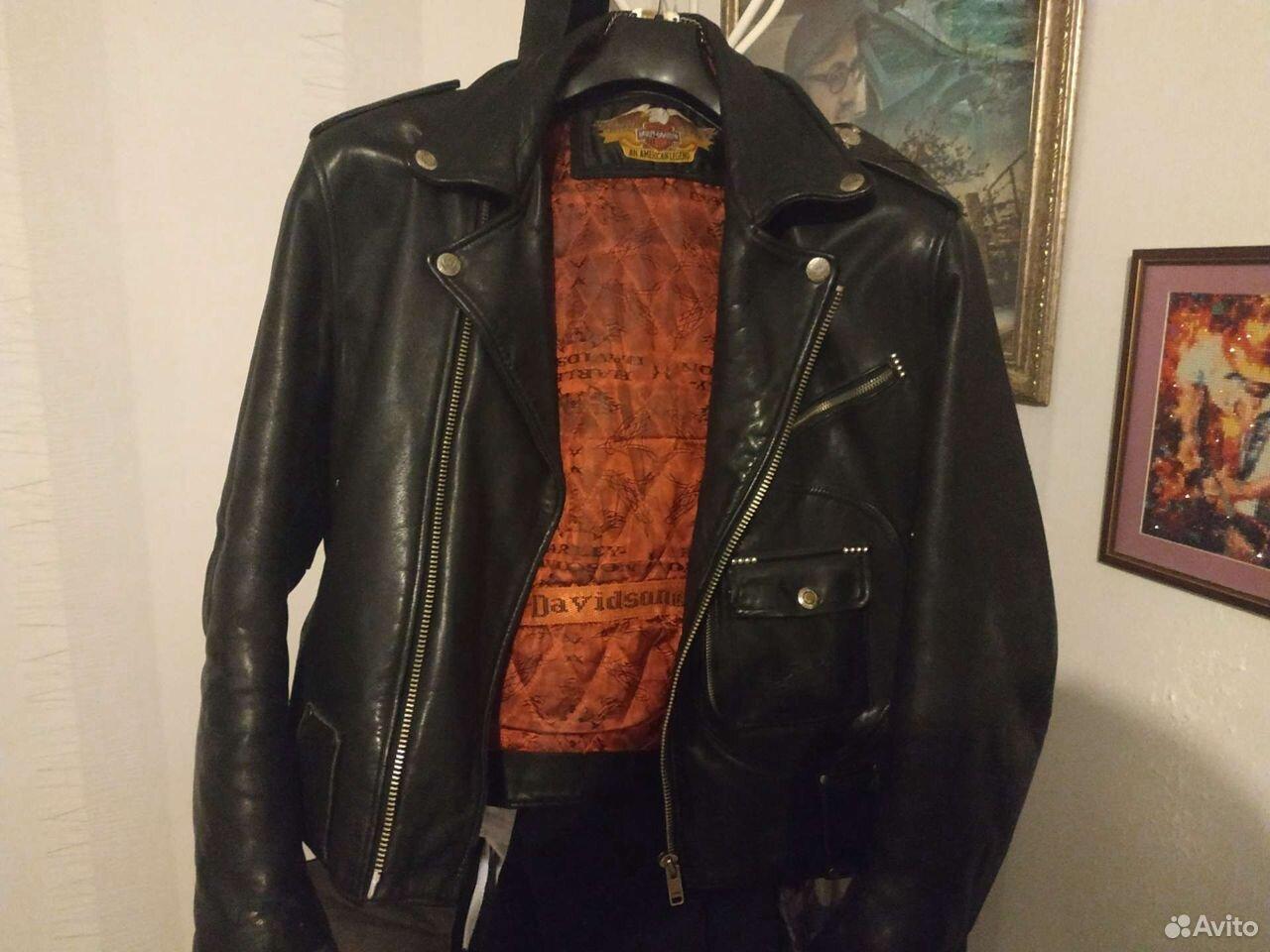 Кожаная куртка косуха Харлей Девидсон оригинал  89220446254 купить 3