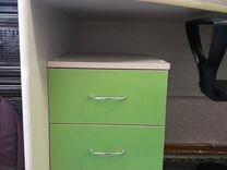 Кровать-чердак (со столом и шкафом)