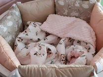 Бортики в кроватку. Новые