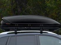 Большой автобокс на крышу машины с монтажом — Запчасти и аксессуары в Краснодаре