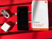 Xiaomi Redmi Note 7 (Черный) 4+64гб Гарантия год