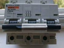 Автоматический выключатель,Merlin Gerin80а