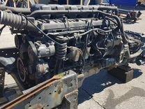 Двигатель Скания в сборе с коробкой передач