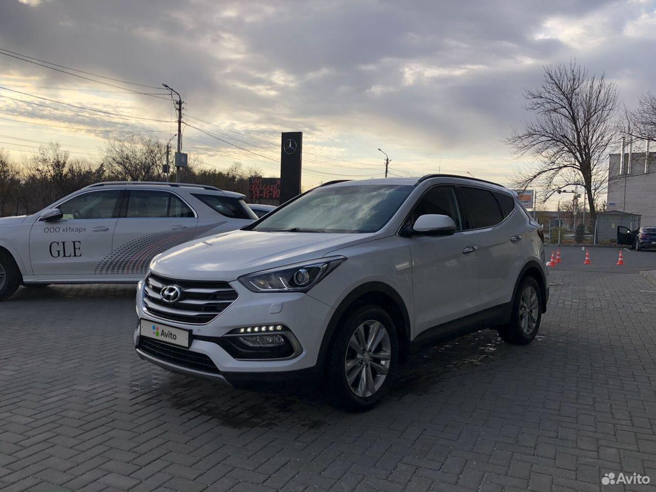 Hyundai Santa Fe, 2016  88452987968 купить 1