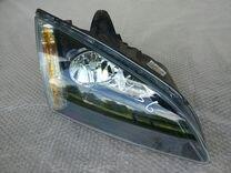 Фара правая Форд Фокус 2 (черная) Б У оригинал