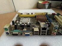 Asus P5KPL-AM LGA775 сокет LGA775 чипсет Intel G31