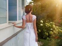 """Свадебное платье фасона """"рыбка"""""""
