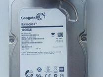 Жёсткий диск HDD seagate barracuda 1000gb — Товары для компьютера в Краснодаре