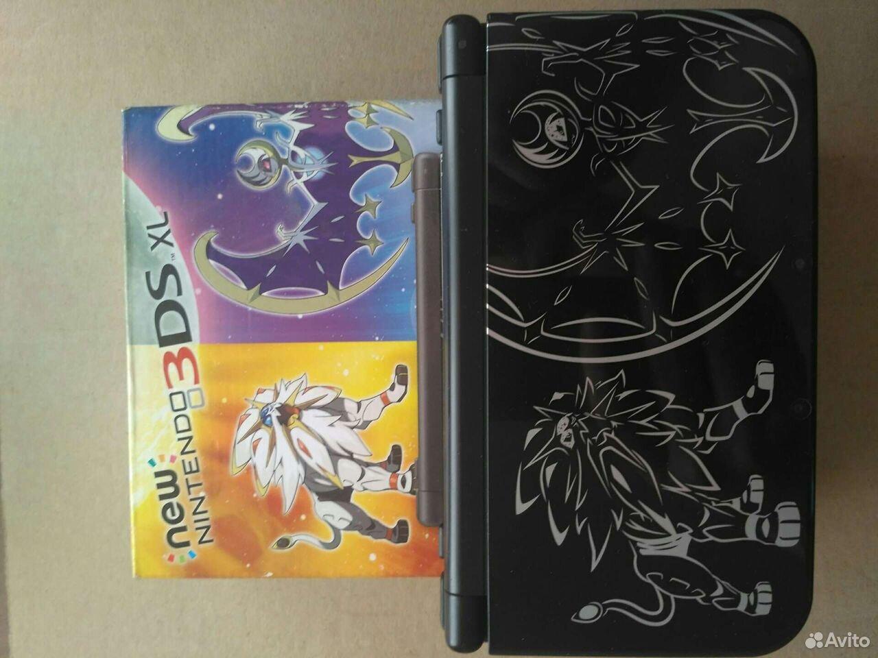 New Nintendo 3DS XL Solgaleo and Lunala Limited ed  89242376647 купить 2