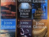 6 книг John Grisham на англ.языке новые