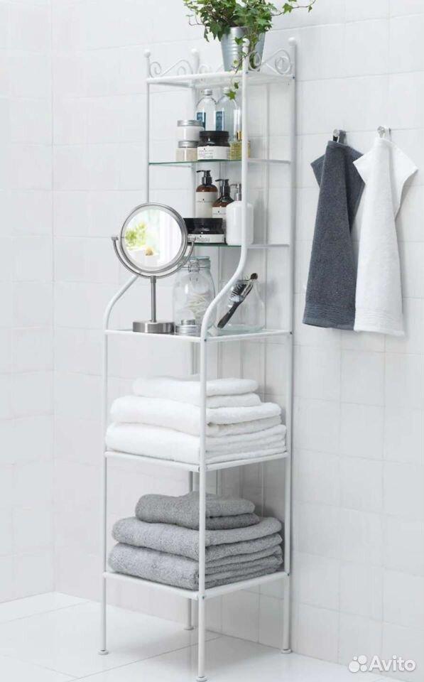 Стеллаж в ванную реншэр Икея  89045160182 купить 1
