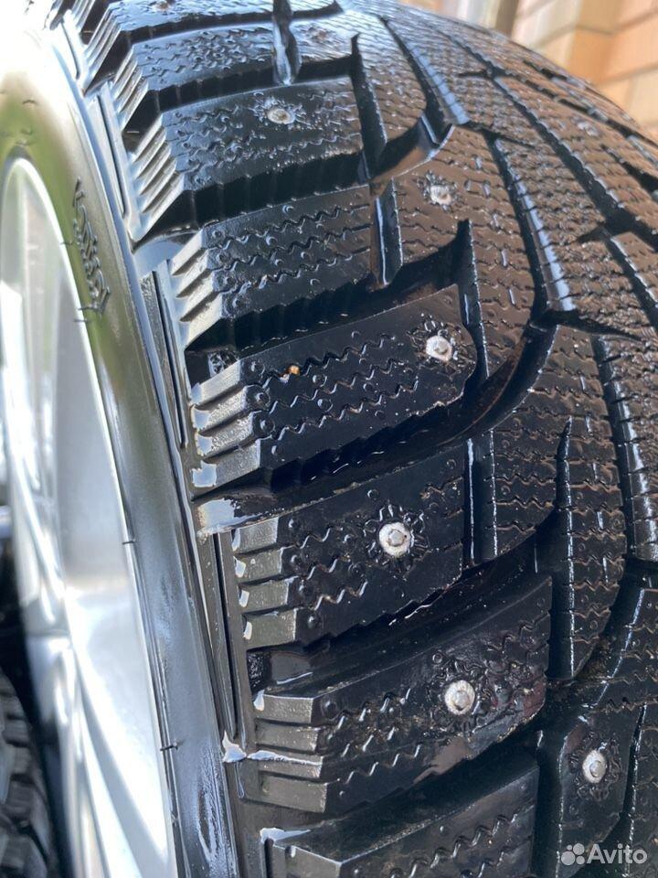 Комплект новых зимних колес на Subaru Sti  89956815638 купить 2
