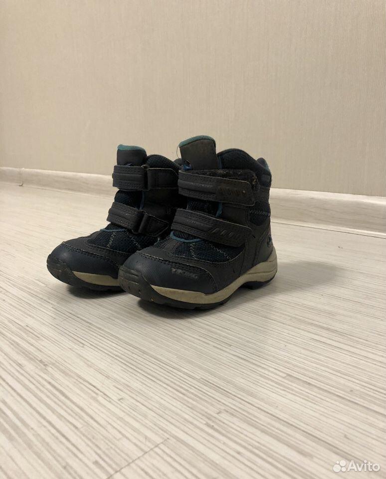 Зимние ботинки Viking, размер 25 89108170513 купить 1