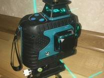 Лазерный уровень 3D зеленый лазер