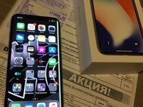 iPhone X на гарантии