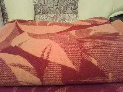 Одеяло шерсть 2 штуки