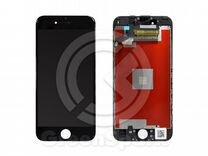 Дисплей для iPhone 6S +тач черный с рамкой AAA co