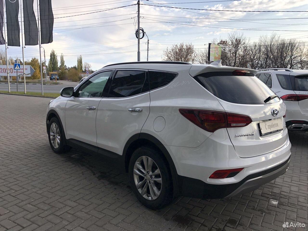 Hyundai Santa Fe, 2016  88452987968 купить 2