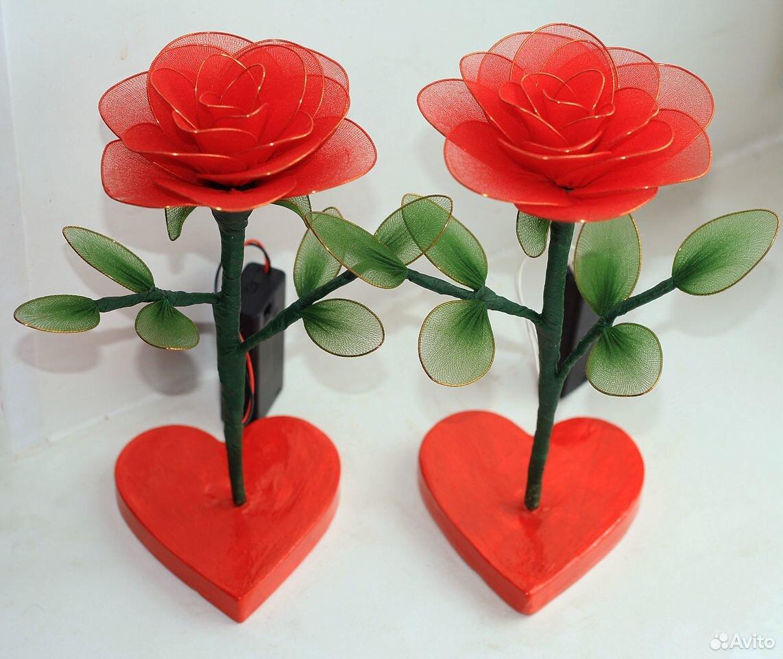Цветы из бисера. Тюльпаны. Розы  89083089399 купить 3
