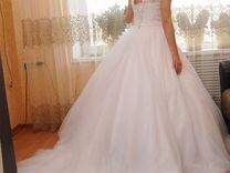 Свадебное платье — Одежда, обувь, аксессуары в Геленджике