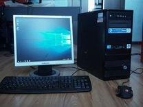Компьютер, полный комплект, готов к работе