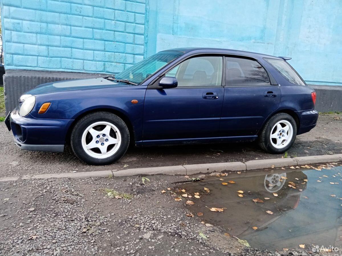 Subaru Impreza, 2000  89098167530 купить 1