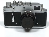 """Zorki 4"", обьектив Индустар 50, экспорт, 1960год"