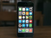 iPhone 5s, 128GB, Space Grey
