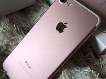 iPhone 7 на 256гб, Rose Gold