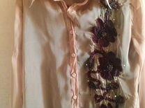 Новые нарядная блузка и брюки на девушку