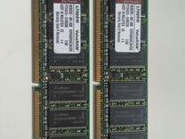 Оперативная память ddr 400 Kingston kvr400, 256 Мб